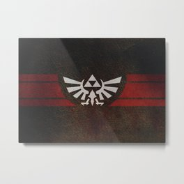 TRIFORCE Metal Print