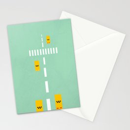 NYC road Stationery Cards