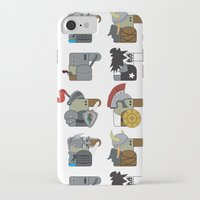 heavy metal iPhone & iPod Cases featuring Heavy Metal by nobleplatypus
