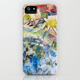 Lion/ Guernica iPhone Case
