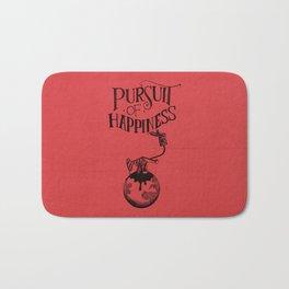 Pursuit Of Happiness Bath Mat
