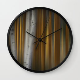 Aspen Poplar Wall Clock