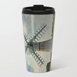 Thurne Dyke Drainage Wind Mill Travel Mug