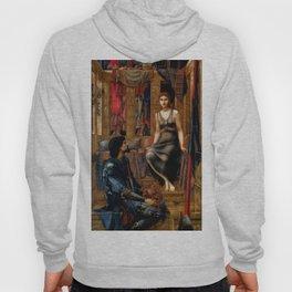 "Edward Burne-Jones ""King Cophetua and the Beggar Maid"" Hoody"