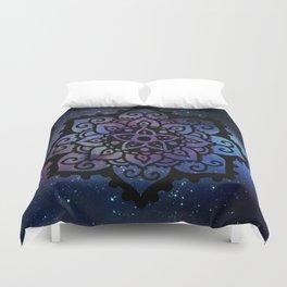 Galaxy mandala 2 Duvet Cover