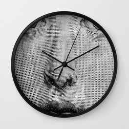 Vintage Face Wall Clock