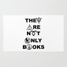 They Are Not Only Books Rug