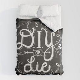 DIY or DIE trying Chalkboard Print Comforters