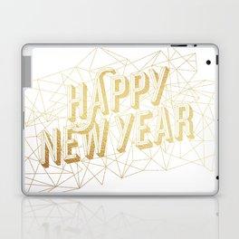 Happy New Year – White Laptop & iPad Skin