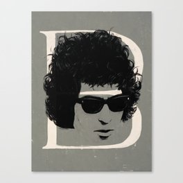 B is for Bob Canvas Print