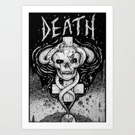 The Valley of Death Art Print