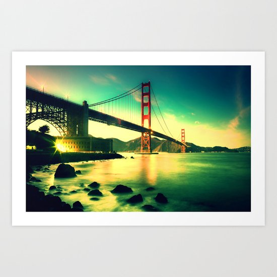 High Bridge Art Print
