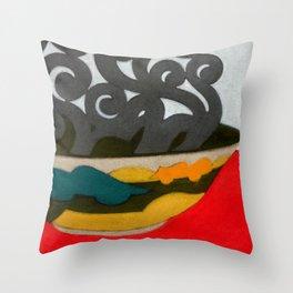 Arabian Earth Throw Pillow