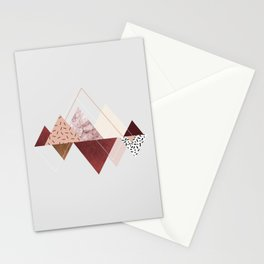 mountains 3 Stationery Cards