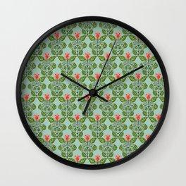 Good Morning Mr. Hoffmann Pattern (Pale Blue) Wall Clock