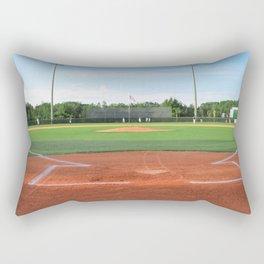 Play Ball! - Home Plate - For Bar or Bedroom Rectangular Pillow
