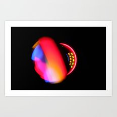Atomic Orbital Art Print