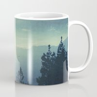 country Mugs featuring Waking Country by Dirk Wuestenhagen Imagery