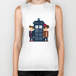Doctor Who 10th & 11th Biker Tank