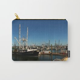 Westport Harbor Scene Carry-All Pouch