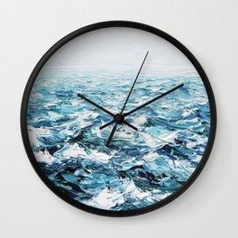 Atlantic Blues Wall Clock