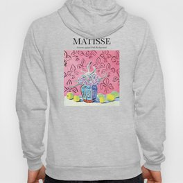 Matisse - Lemons against Pink Background Hoody
