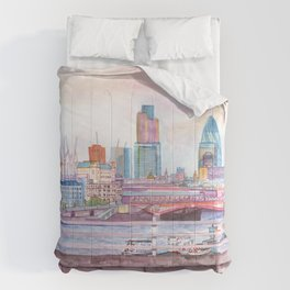 Colorful London Comforters