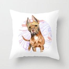Bunny Ears 2 Throw Pillow