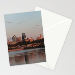 Downtown Kansas City at Sunset Stationery Cards