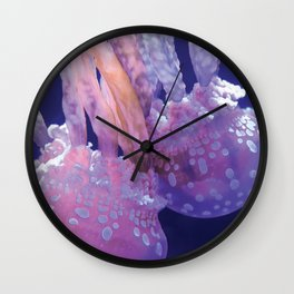 Jellyfish Family (Underwater Photography) Wall Clock
