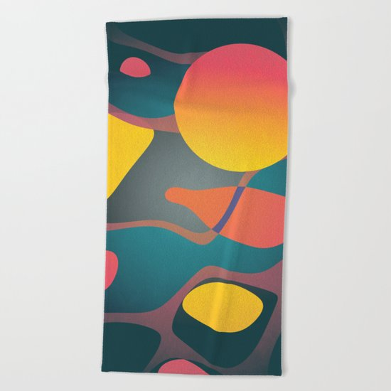 Dissolving Dreams Beach Towel