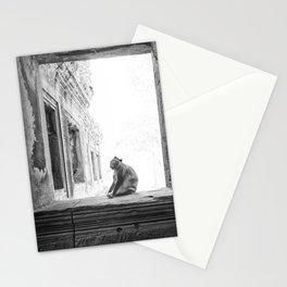 Sitting Monkey Stationery Cards