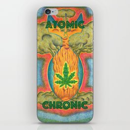 Atomic Chronic iPhone Skin