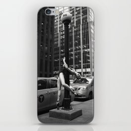 Random Acts of Dancing 5 BW iPhone Skin