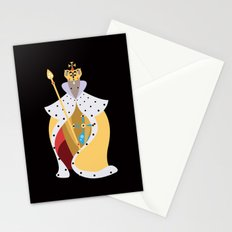Queen Wolf Stationery Cards