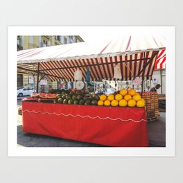 PHOTOGRAPHY - The colors of fruit Art Print