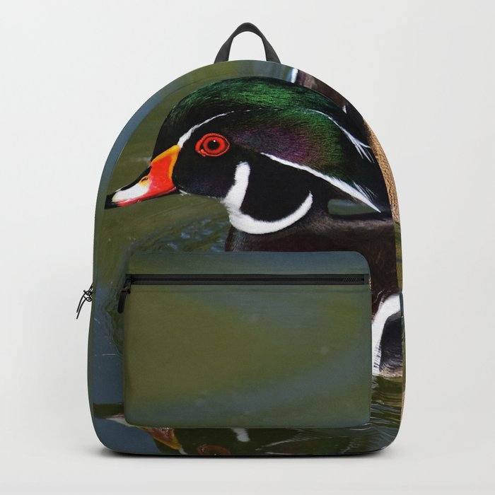 Male Wood Duck Backpack