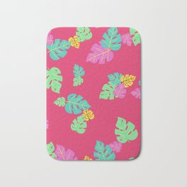 Baesic Tropic Leaves Bath Mat