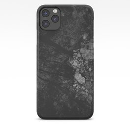 Luxury Black Marble iPhone Case