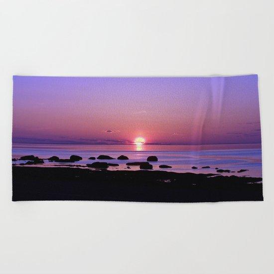 Beauty on the Saint-Lawrence Beach Towel
