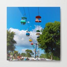 Minnesota State Fair Sky Ride Metal Print