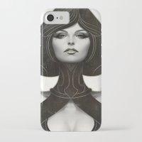 artgerm iPhone & iPod Cases featuring Pepper Spade by Artgerm™