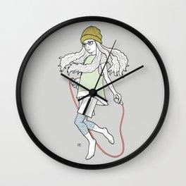 skip and jump Wall Clock