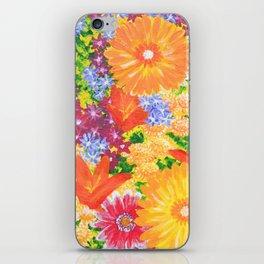 Flowers Awaken iPhone Skin
