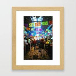 Mexican Market Framed Art Print