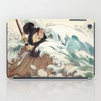 bouletcorp iPad Cases featuring Tsunami by Bouletcorp