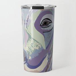 Weimaraner Denim Colors Travel Mug