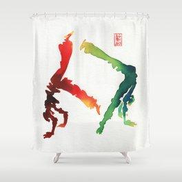 Capoeira 260 Shower Curtain