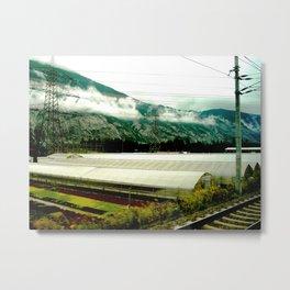 Zurich-Salzburg 3 Metal Print