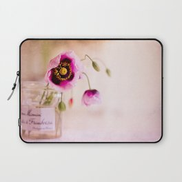 Pink Poppies Laptop Sleeve